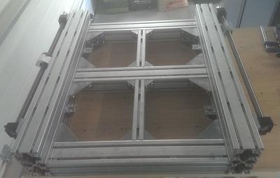 La base de la CNC