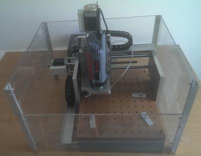 Ma première CNC, opérationnelle après beaucoup de nécessaires améliorations