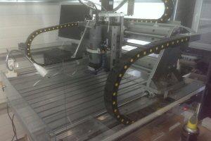 La CNC en profilés alu