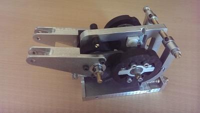 Montage de la base du throttle - seconde étape