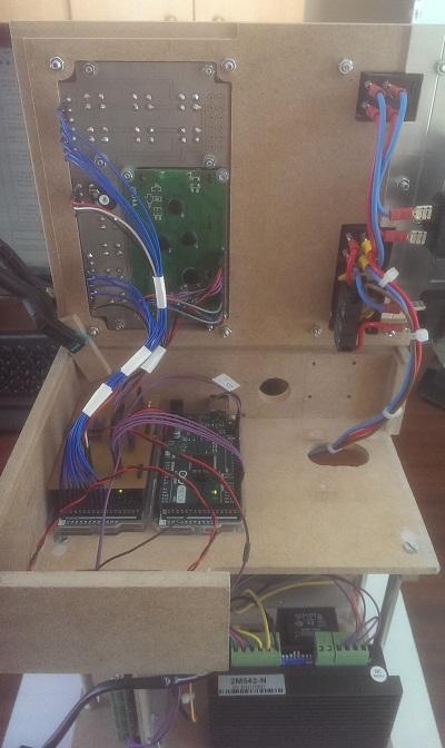 Les 2 Arduino pour numériser le tour