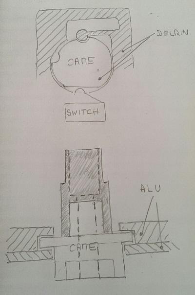 Principe du contacteur rotatif du push-pull v5