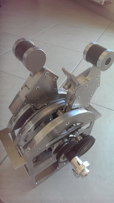 Mécanique du throttle terminée